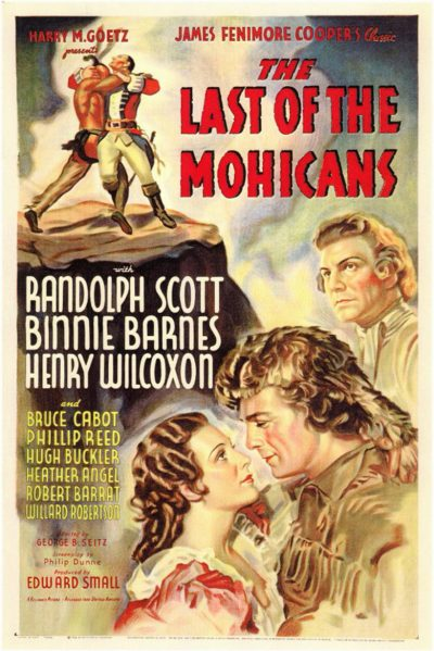 last of the mohicans 1936 poster