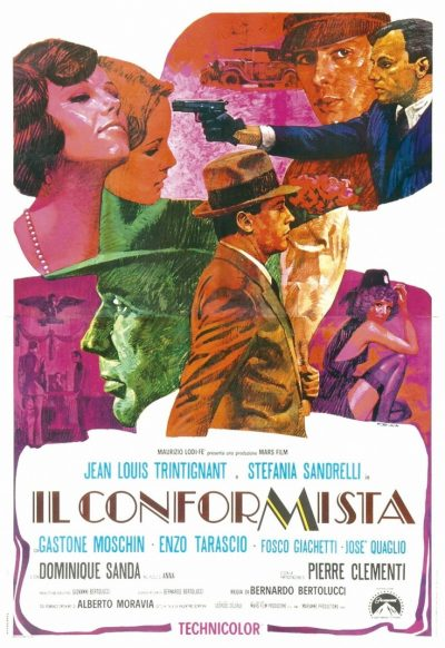 the conformist movie poster