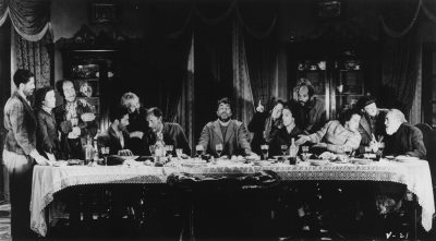 The notorious Last Supper sequence in Luis Buñuel's VIRIDIANA.  Credit: Janus Films.  Playing 4/24 - 4/30.