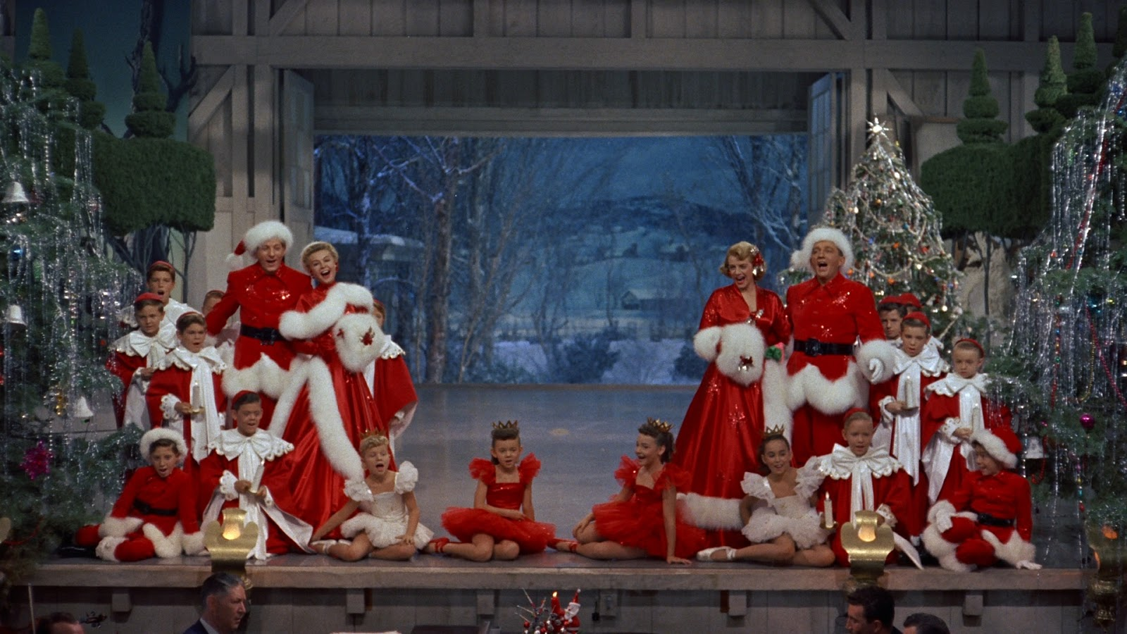 White Christmas Minstrel Show.White Christmas 1954 Curtiz The Cinema Archives
