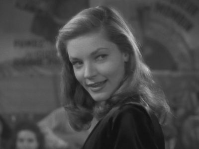 lauren bacall to have and have not image closeup