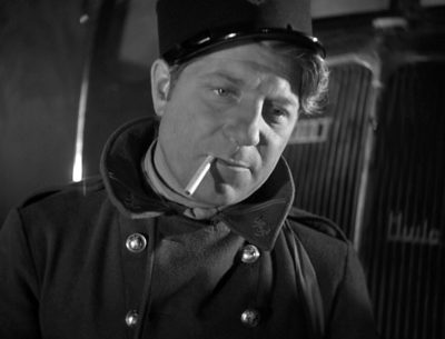 Jean Gabin in Marcel CarnŽÕs PORT OF SHADOWS (1938). Courtesy: Rialto Pictures
