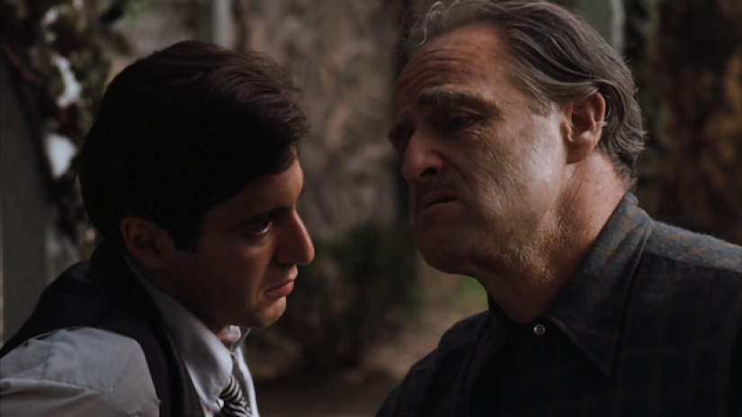 This image has an empty alt attribute; its file name is francis-coppola-two-actors-godfather.png