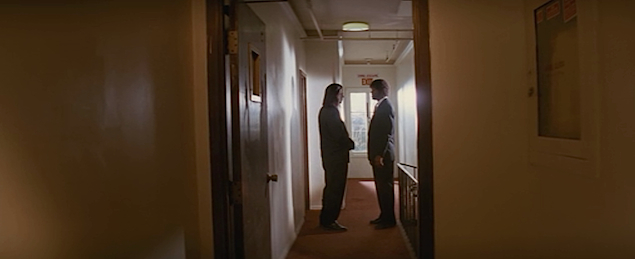 This image has an empty alt attribute; its file name is pulp-fiction-hallway-shot.jpg