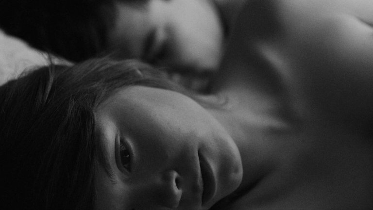 This image has an empty alt attribute; its file name is ida-bergman-two-shot-in-bed-Pawlikowski.jpg