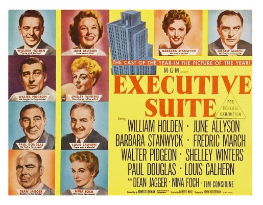 Executive Suite – 1954 Wise